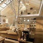 salotto legno