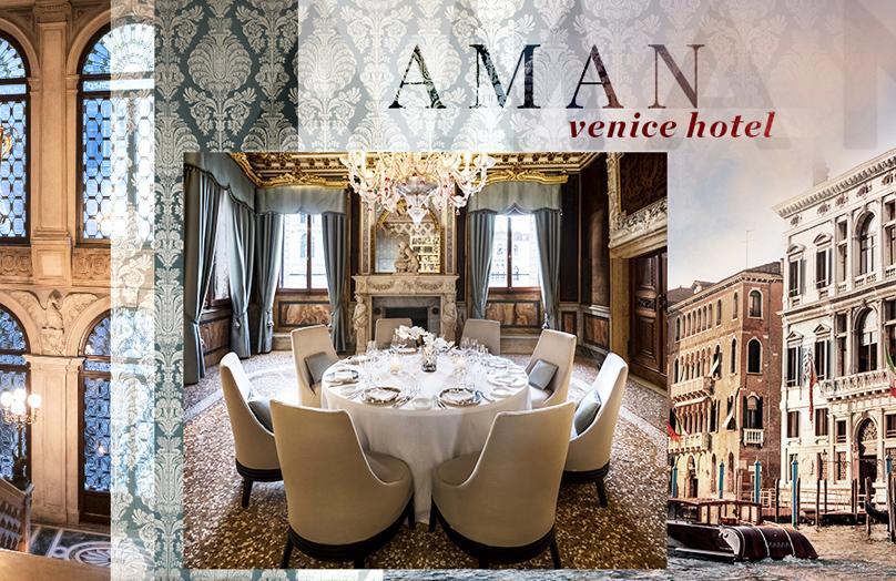 Aman Venice Hotel - Un sogno con vista Canal Grande