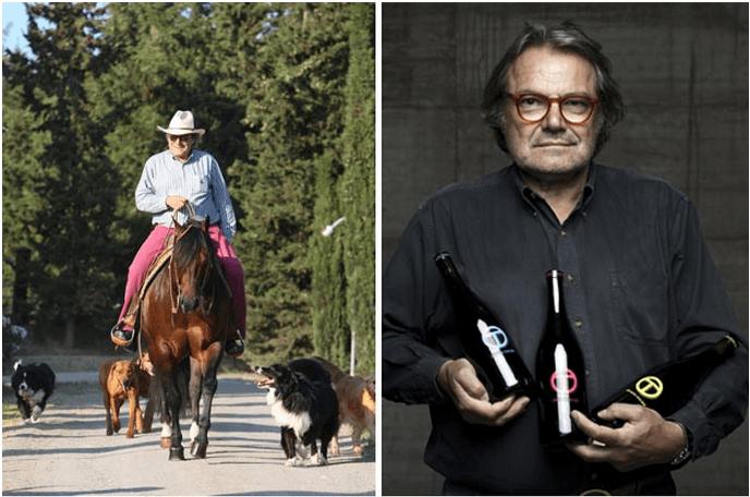 Il vino di Oliviero Toscani