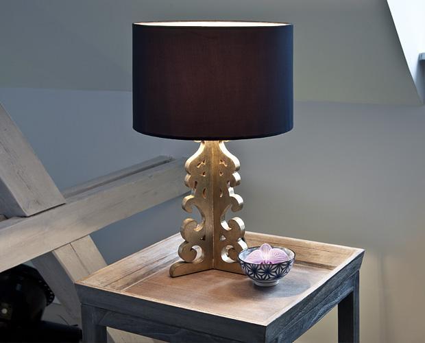 lampada nera