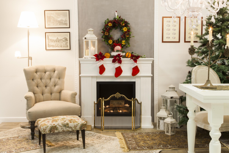 Cuore del Natale: ghirlanda fai da te