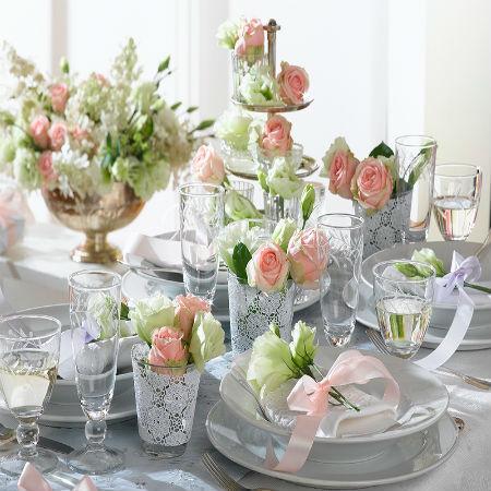 Matrimonio a primavera - 3 stili per decorare