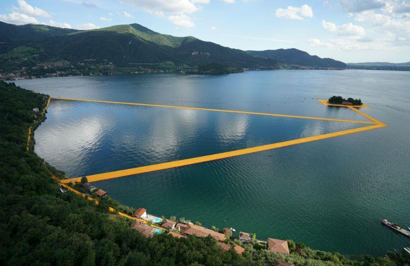 Sulle acque con Christo - The Floating Piers