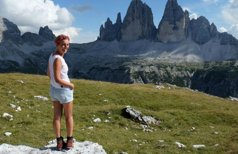 Elena Braghieri - Milano e uno chalet d'estate