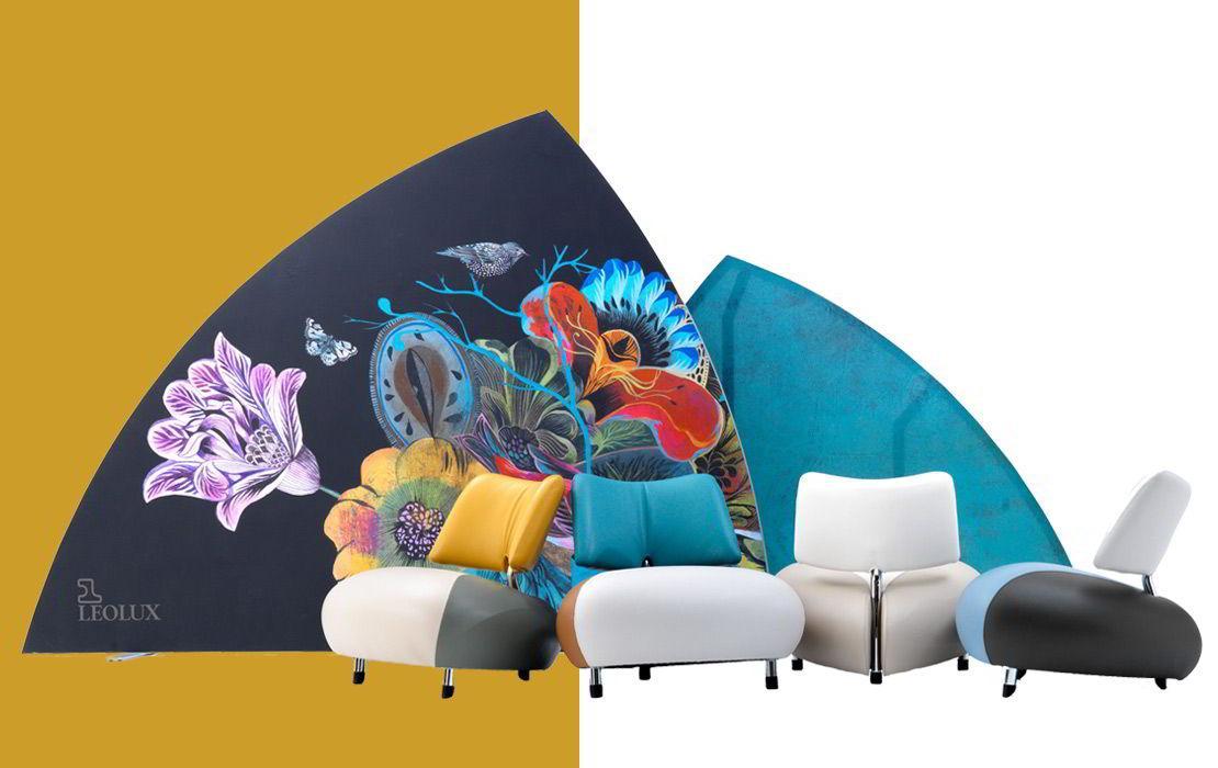 Dalani, Leolux, Colori, Design, Casa, Arte