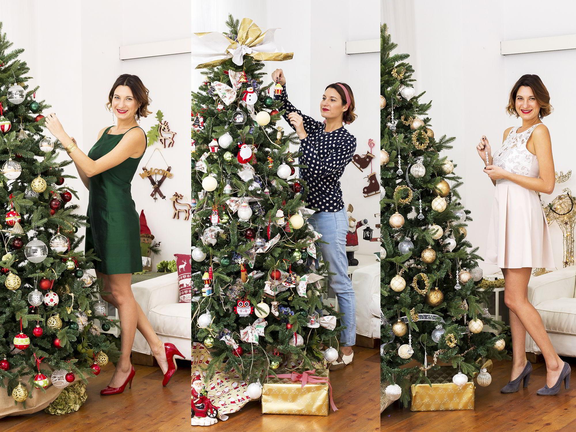 Albero Natale Decorato Rosso l'albero di natale è classico, glam, funny! | westwing magazine