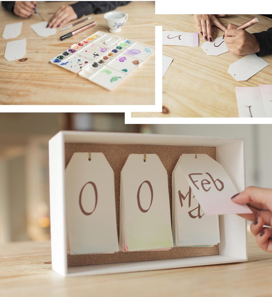calendario da tavolo casalingo