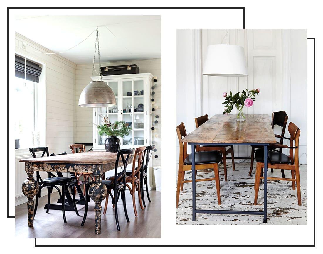 Lampade Sopra Tavolo Da Pranzo l'importanza della luce: le lampade per la sala da pranzo