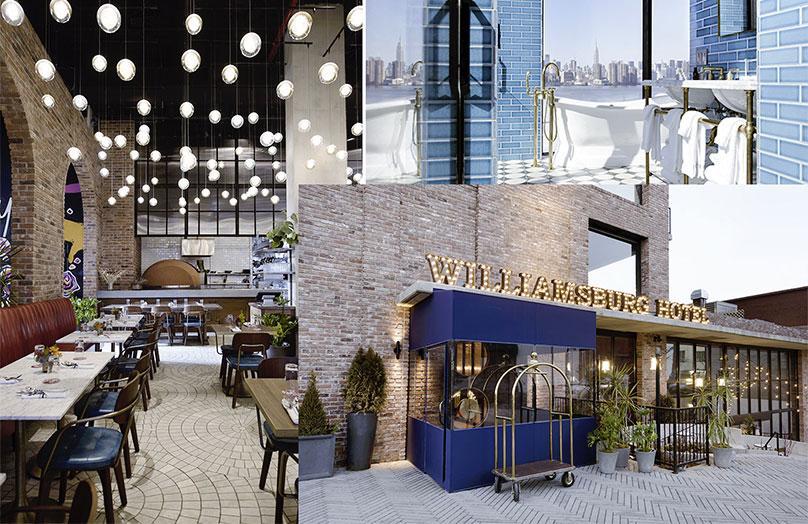 The Williamsburg Hotel - Il nuovo volto Cool Industrial di Brooklyn