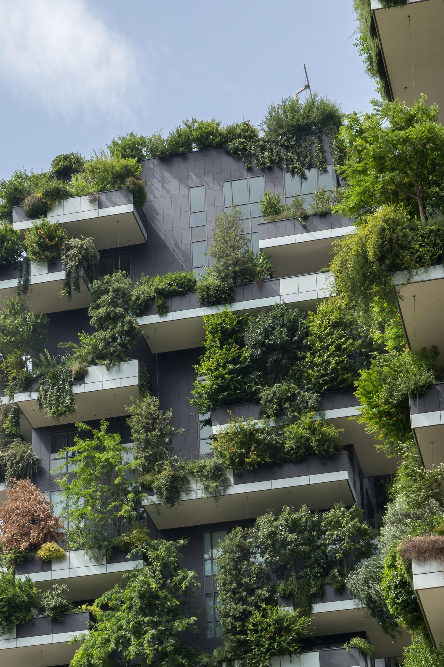 C È Una Casa Nel Bosco bosco verticale milano design casa natura | westwing magazine