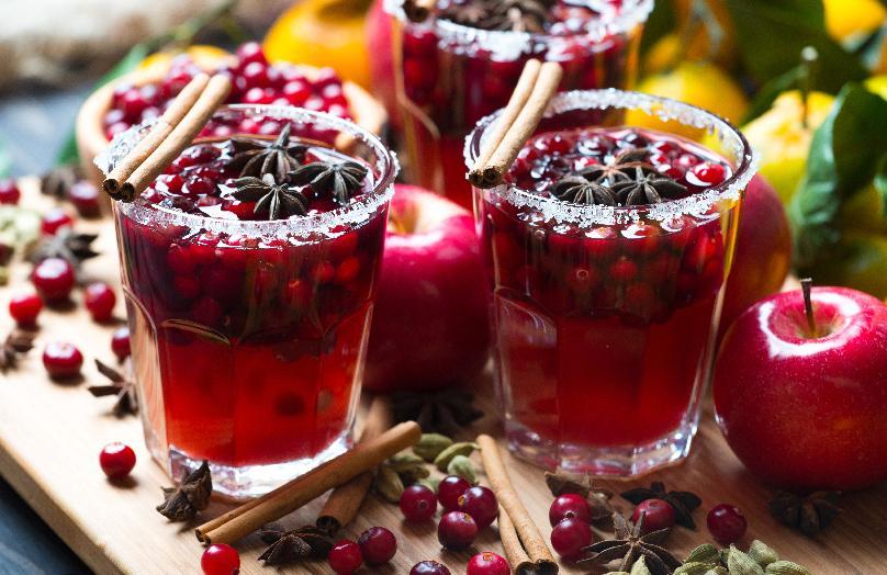 Feestelijke cocktails voor de decembermaand