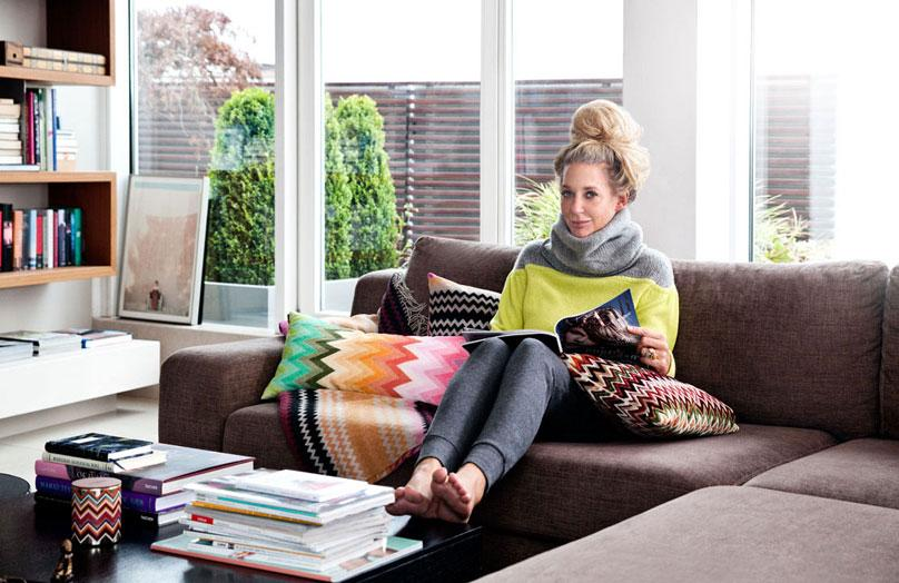 Kijk mee in het luxe appartement van Ala Zander
