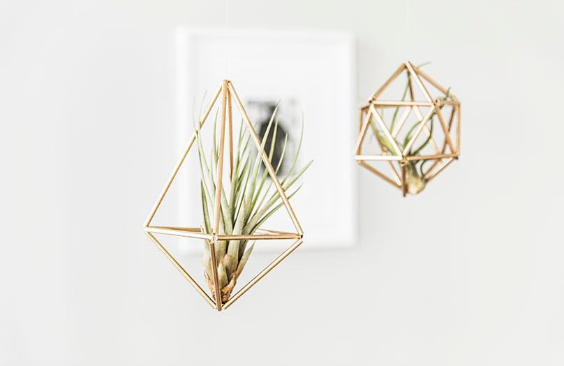 Scandi deco: DIY Himmeli
