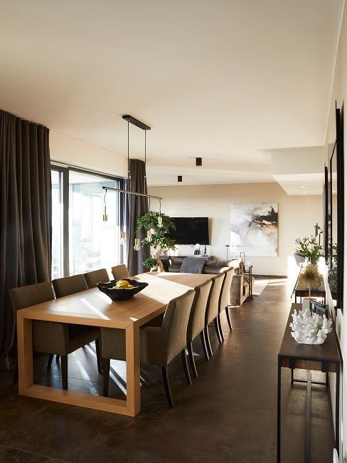 Ann-Kathrin Götze Wohnzimmer Essbereich Sofaecke Überblick