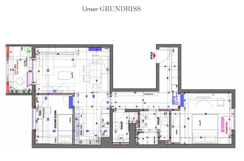 Wohnung neu einrichten Grundriss