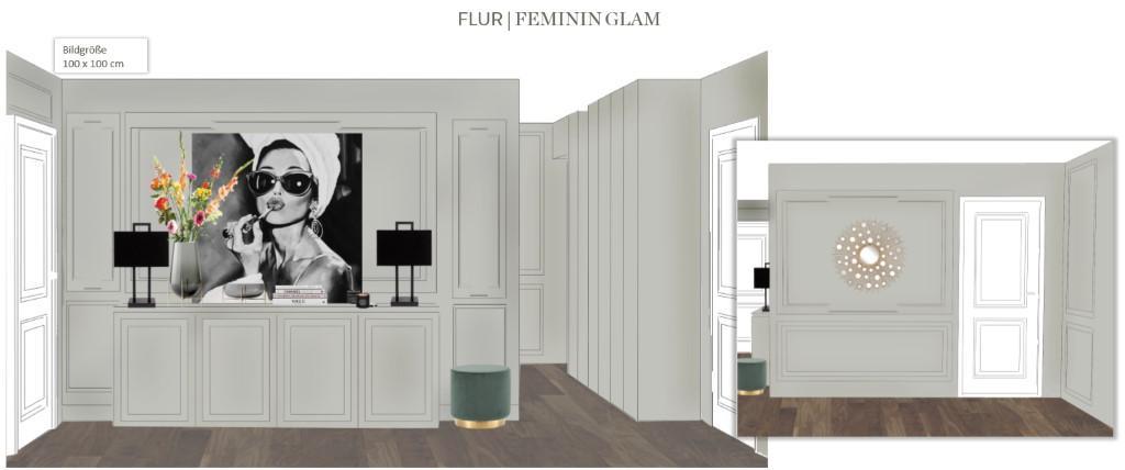 Wohnung neu einrichten Flur Vorschlag 2