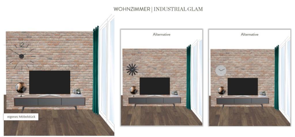 Wohnung neu einrichten Wohnzimmer Vorschlag 3