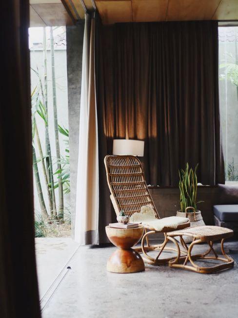 mobili giardino zen