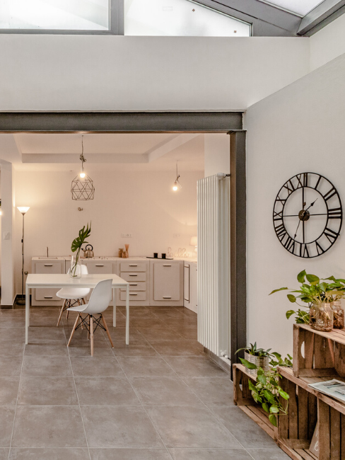 Stile industiale per home staging