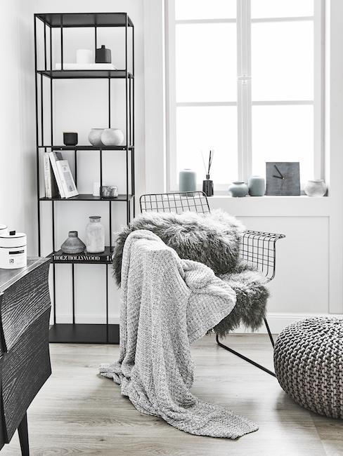 Wohnzimmer mit Markedeko