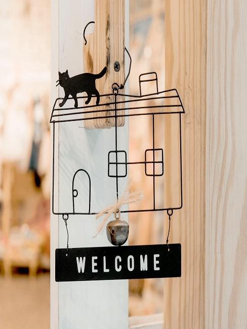 Haus Deko Herzlich Willkommen