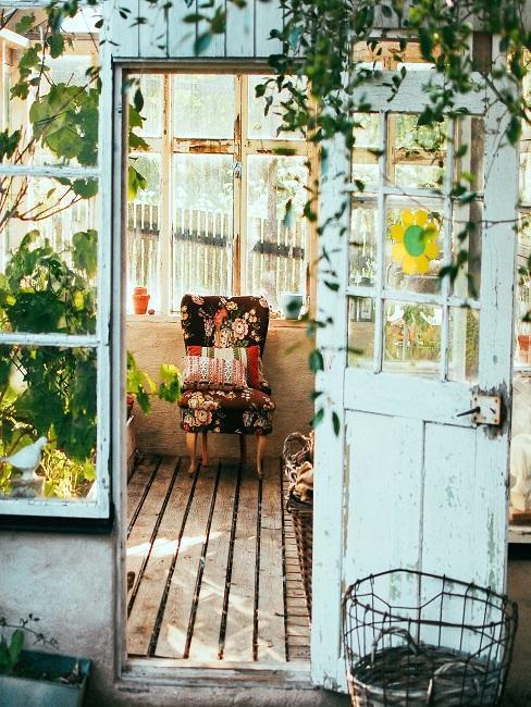 Gartenhaus im Shabby Chic