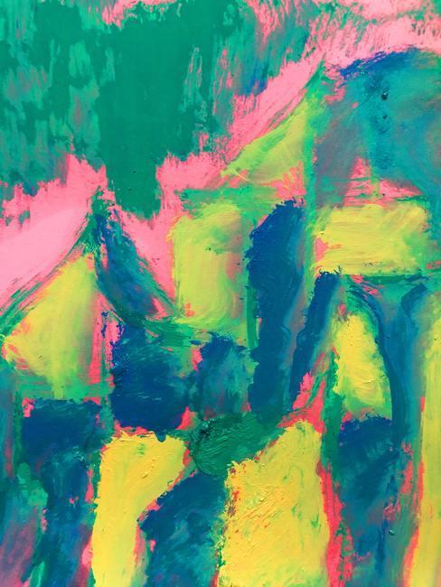 Papel pintado abstracto de varios colores