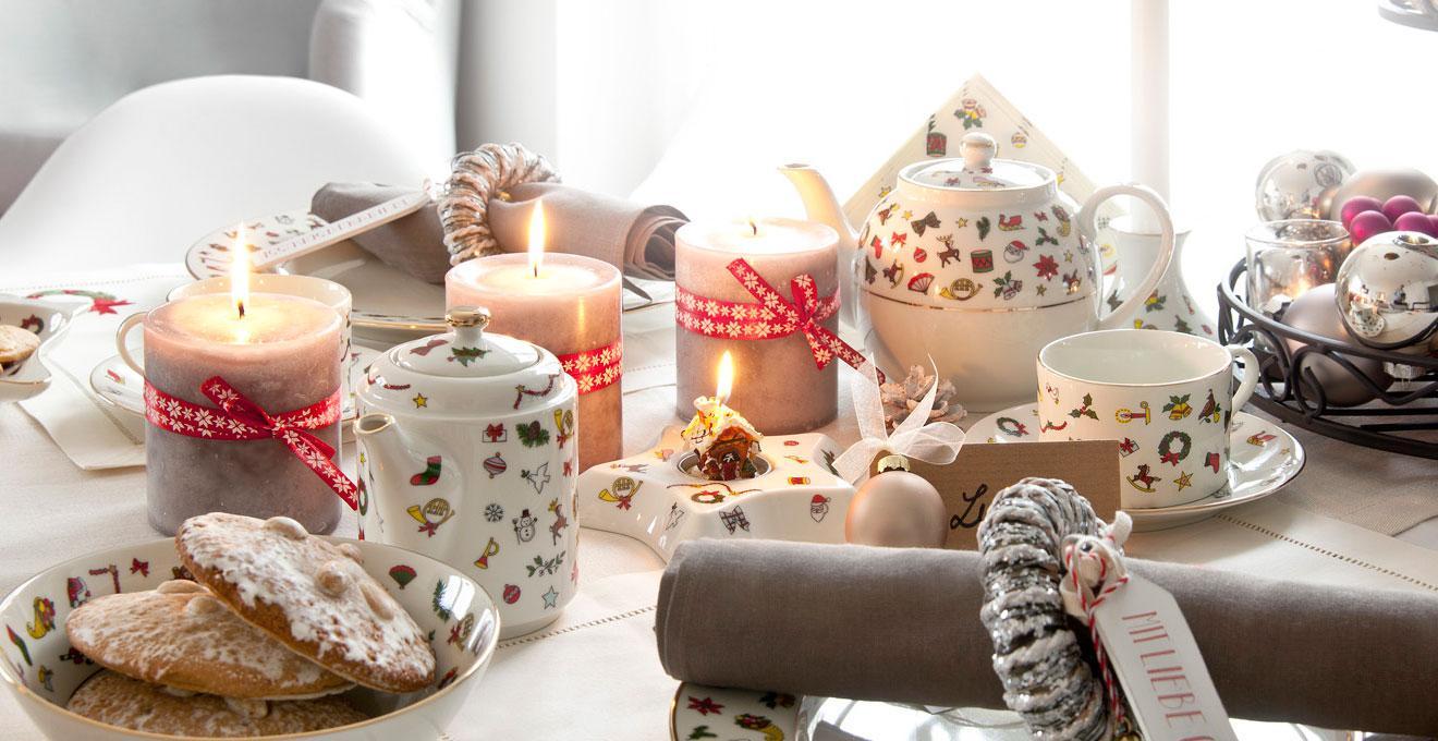 Porzellan Weihnachten