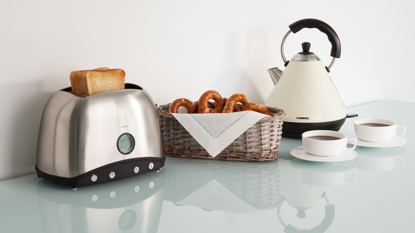 Toaster Schwarz