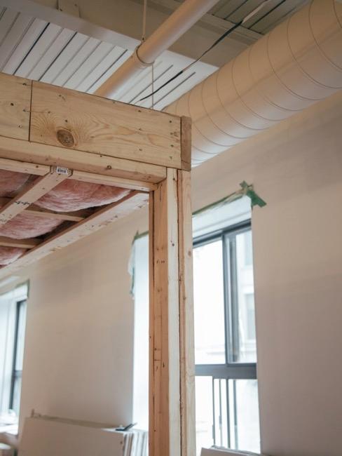 Renovierungsarbeiten in Wohnung