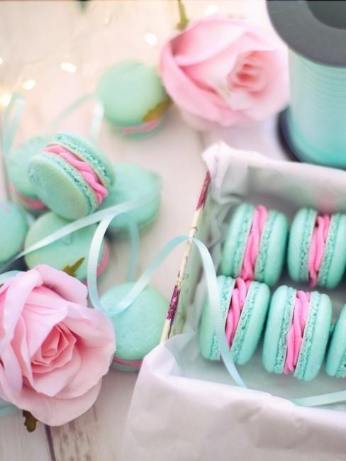 macarons como regalo