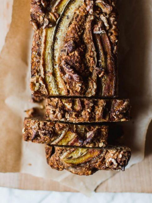 banan bread pronto per essere servito