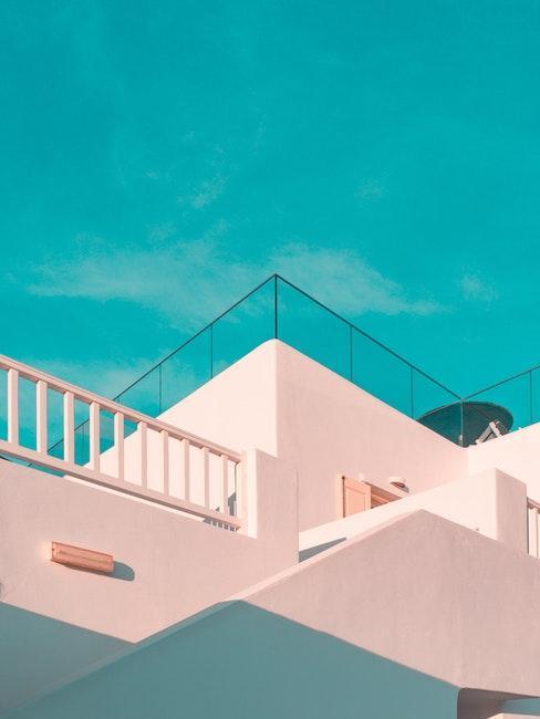 abbinamento colori facciata esterna bianco
