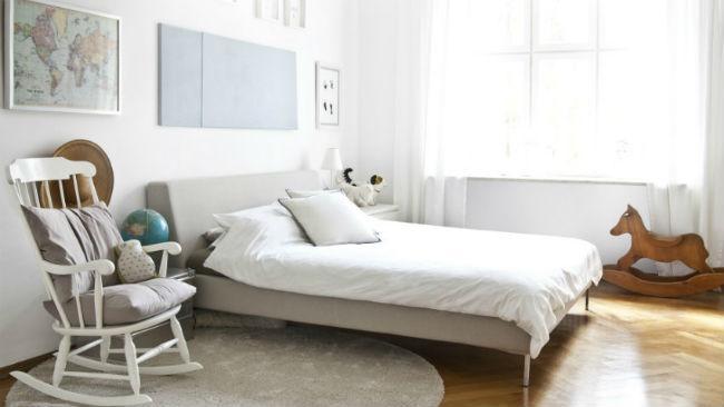 Bett selber bauen im Scandi Style