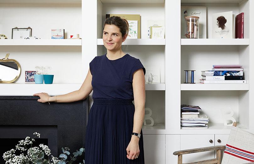 Zu Hause bei Olivia Belanger in Paris