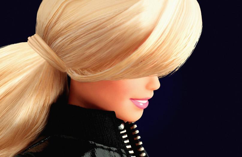 Barbie entra en el museo
