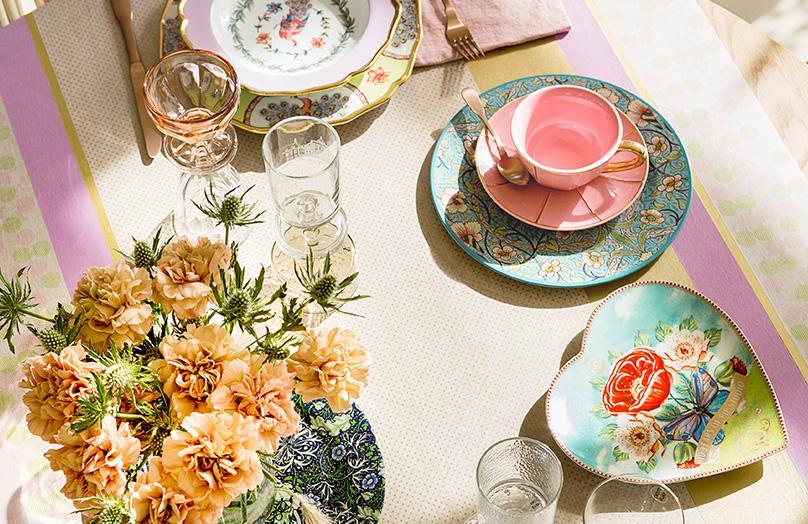 Cómo decorar la mesa en verano