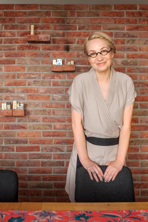Zu Hause in Warschau bei Marta Suchodolska