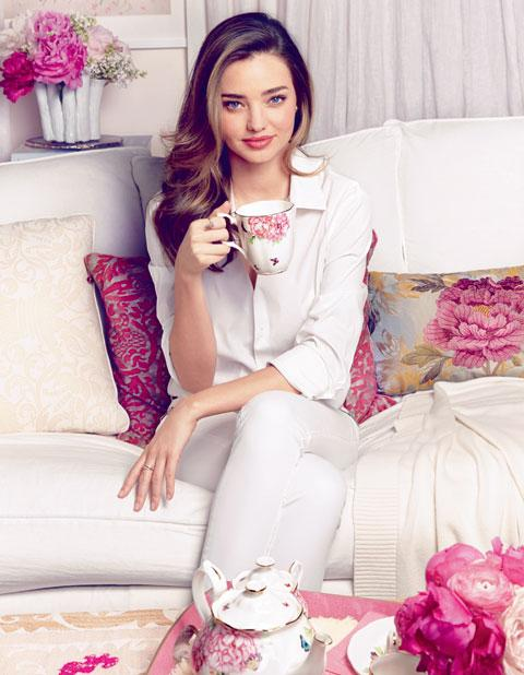 Miranda Kerr für Royal Albert