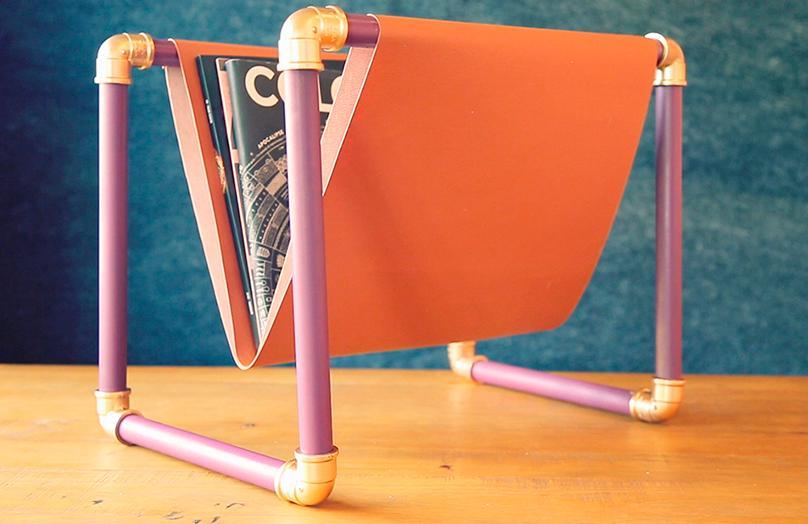DIY Zeitschriftenständer: So einfach geht's