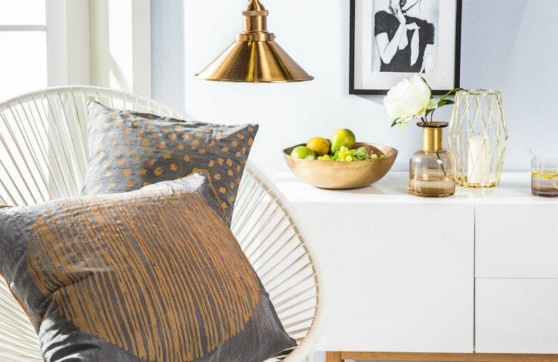 Cómo decorar con dorado: 6 consejos para acertar