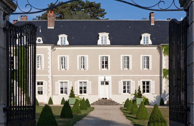 Château de la Resle, inspiración para el diseño