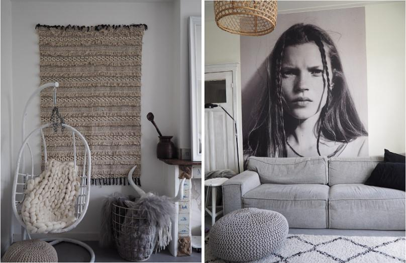 En casa de una bloguera de contrastes