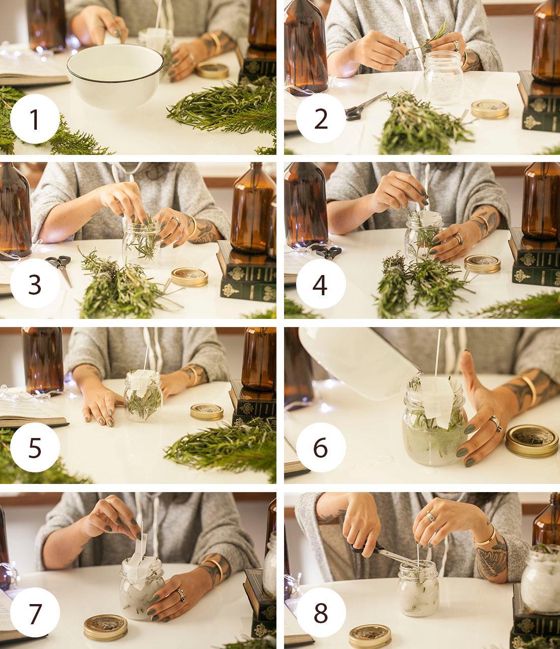 Instrucciones para hacer vela perfumada casera