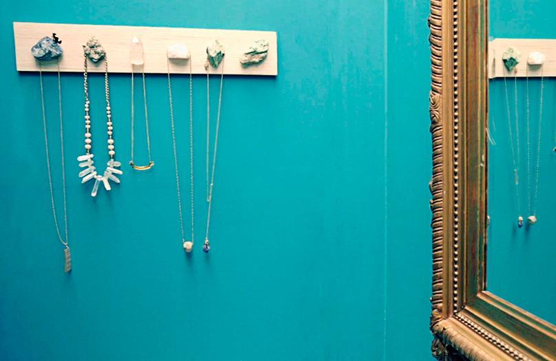 Organizador de collares DIY