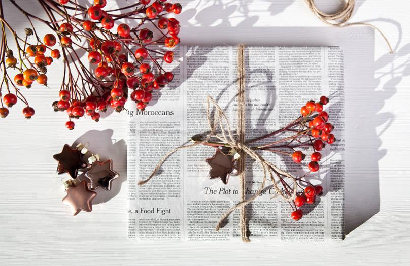 Envolver regalos sin papel de regalo