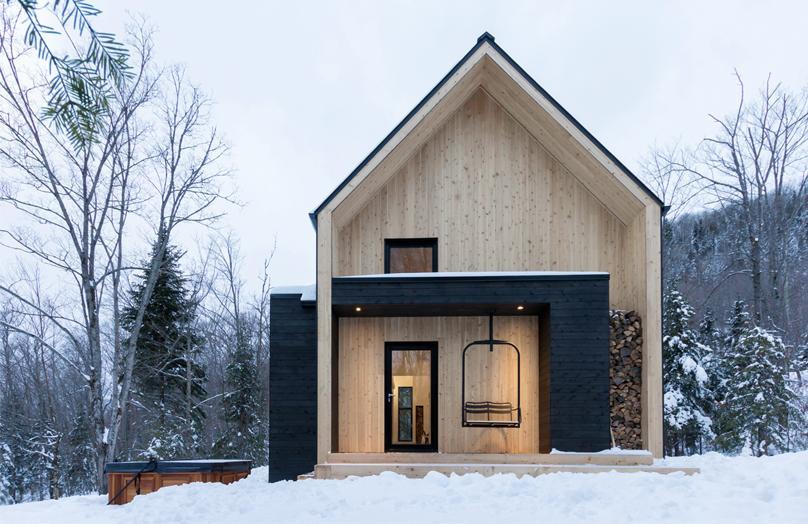 La Villa Boréale, un chalet aux allures scandinaves