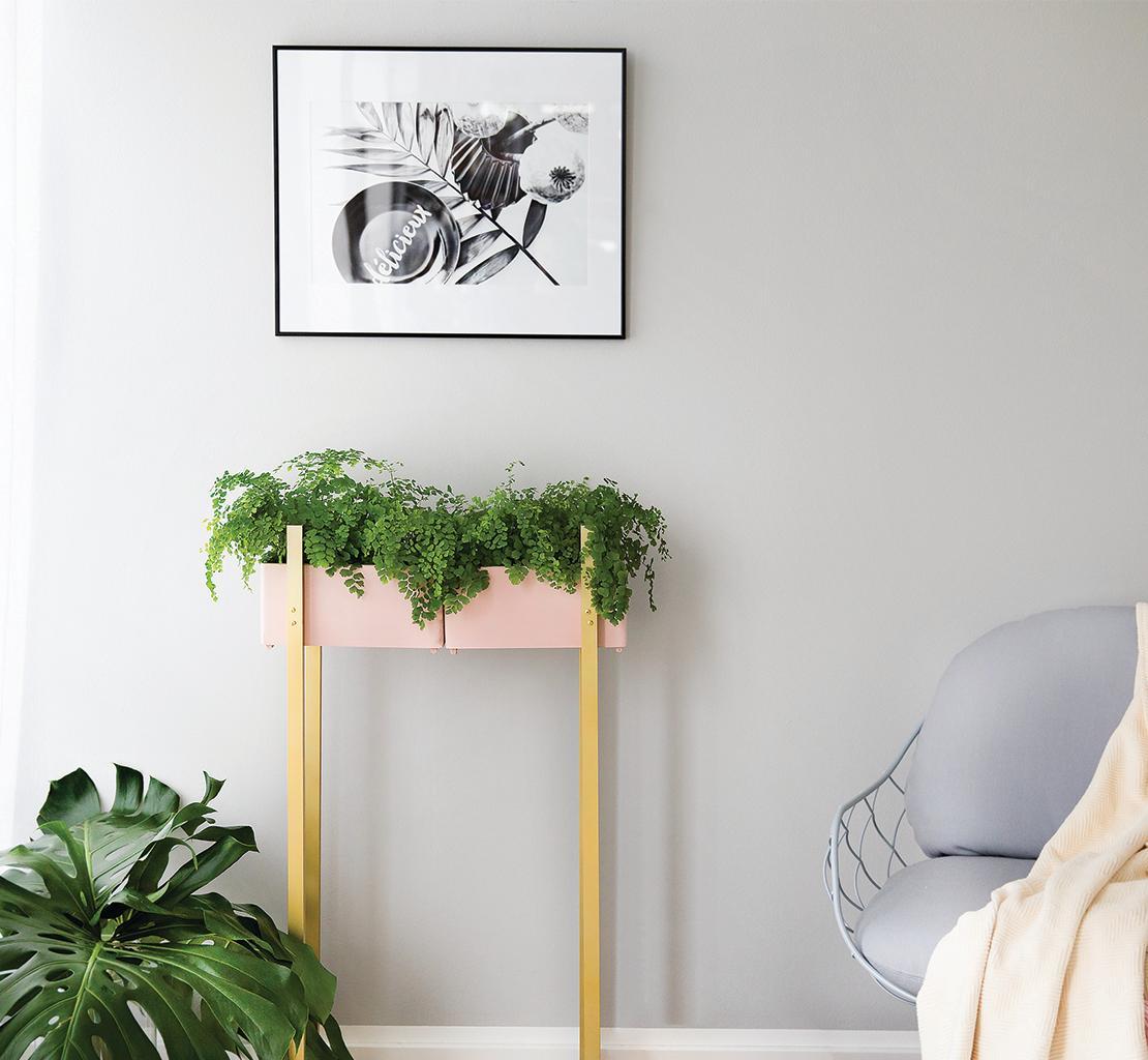 jardinière plantes DIY déco