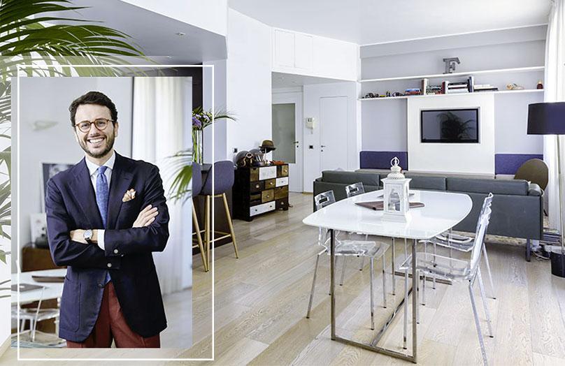 Fabio Attanasio: la mia casa da Gentleman