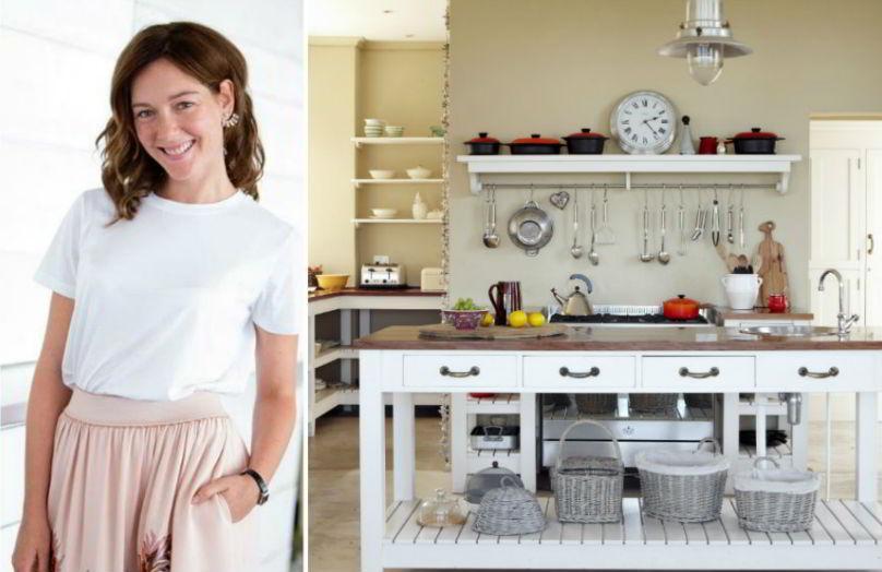 Cristiana Capotondi - Un salotto in cucina